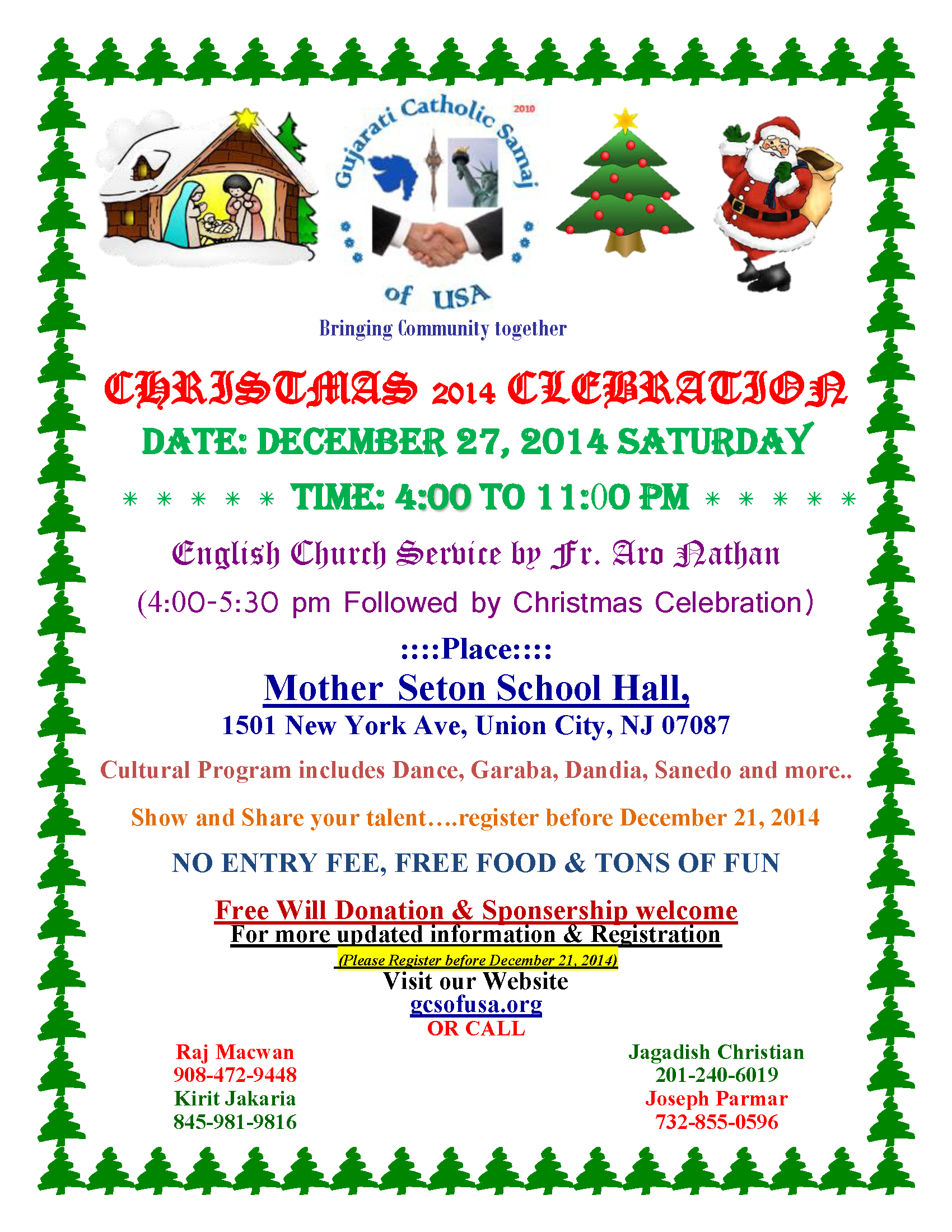 GCS-Christmas-2014 Flyer Revised