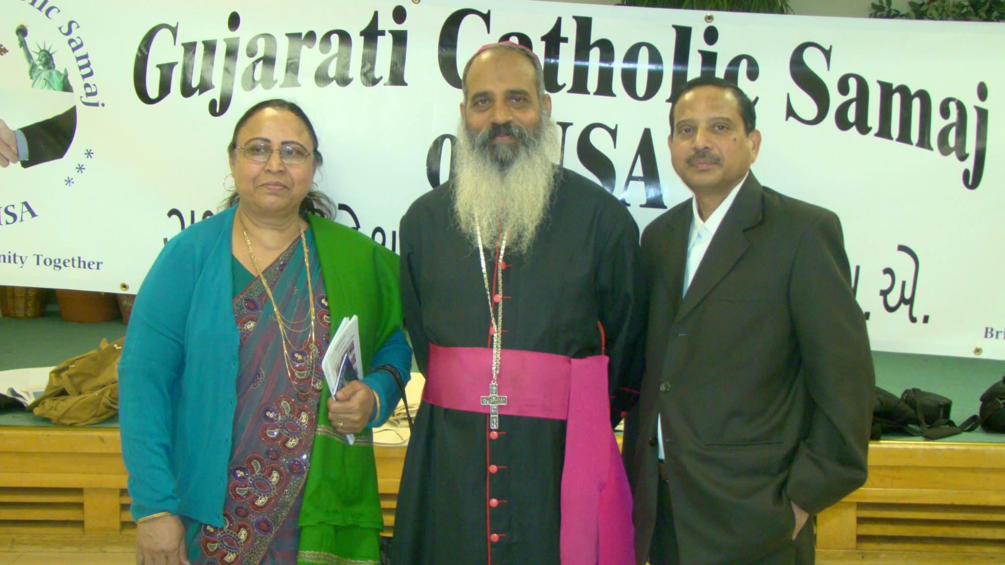 During visit of Hon. Bishop Thomas Macwan on March 9, 2014