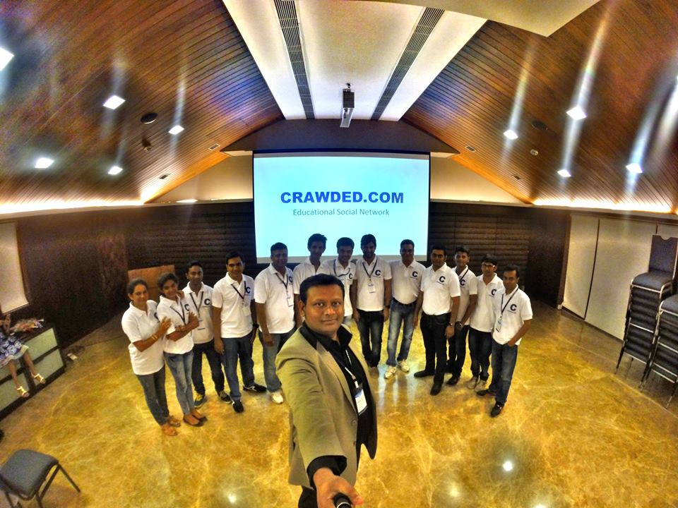 Crawded.com Pre-launch