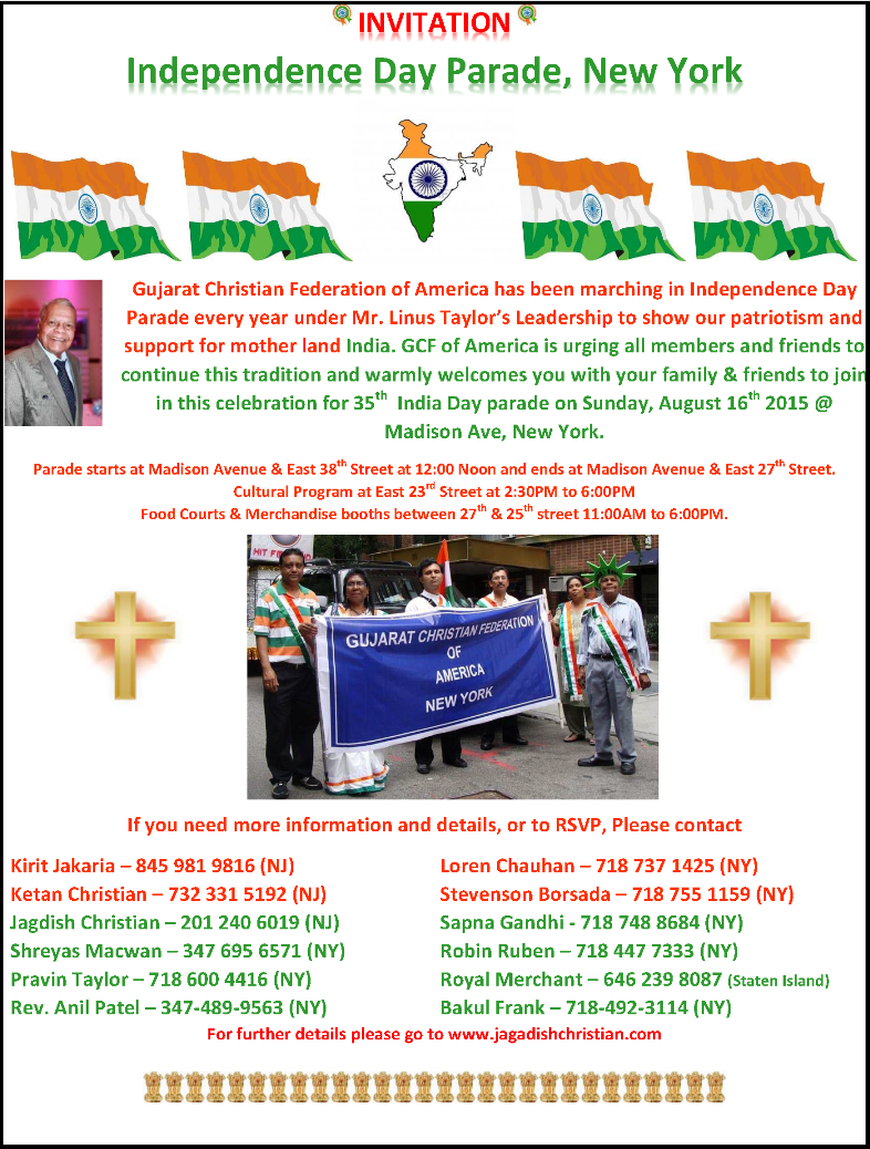 August 15th Parade2015