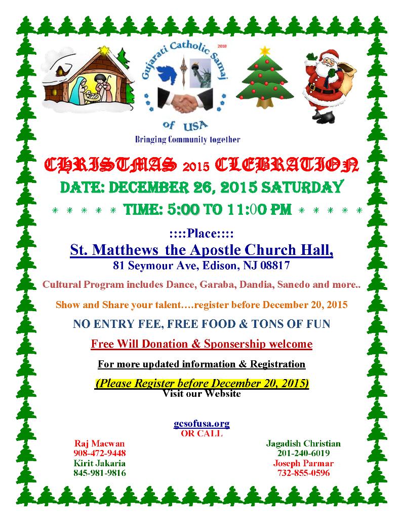 GCS-Christmas-2015 Flyer