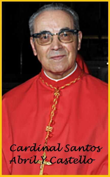 Em.mo Sig. Card.. Santos Abril y Castellò - (Copyright L'OSSERVATORE ROMANO - Servizio Fotografico - photo@ossrom.va)