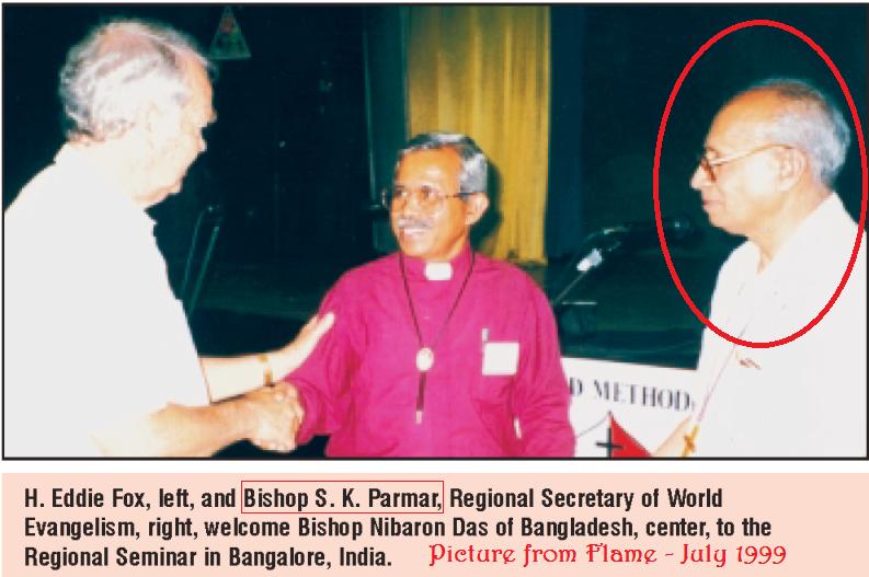 Bishop SK Parmar