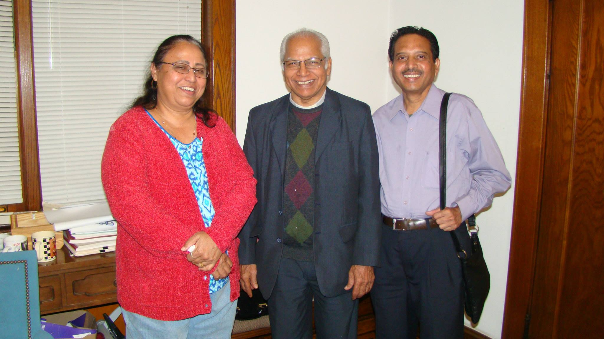 On October 2013 during visit of Fr. Varghese.