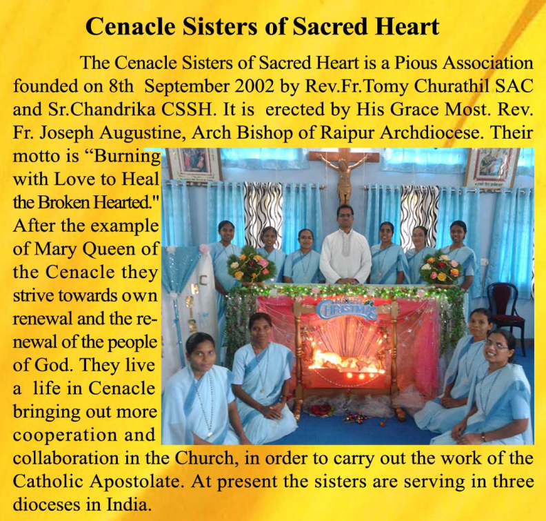 Cenacle Sisters of Sacred Heart