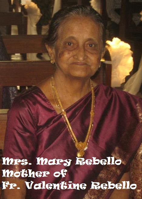 Mrs. Mary Rebello